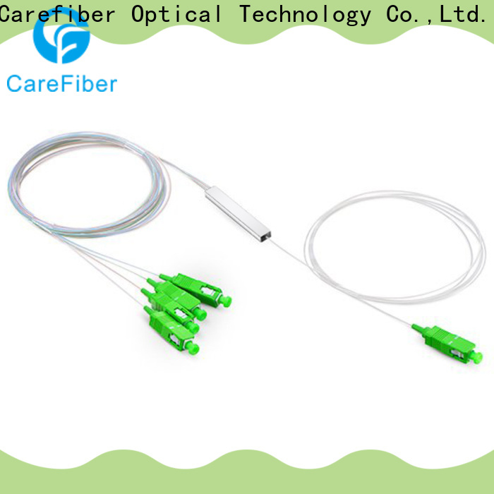 Carefiber mini optical splitter cooperation for communication