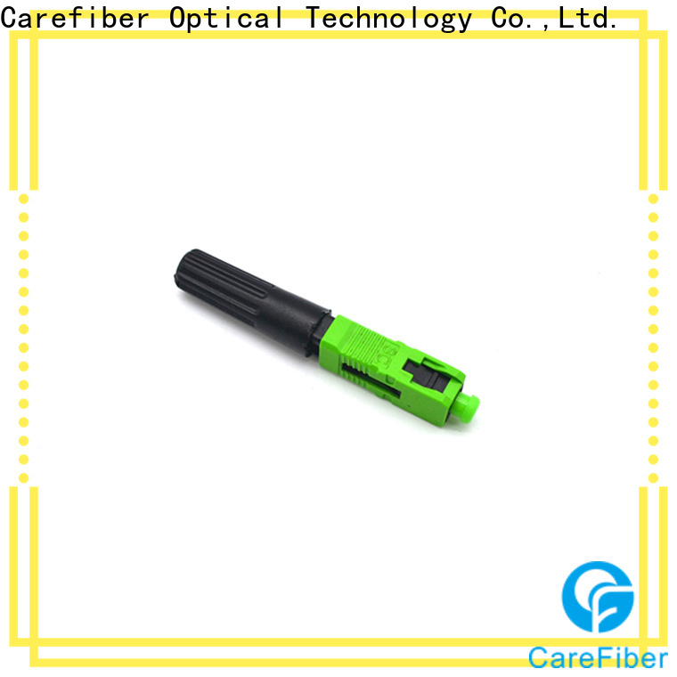 Carefiber carefiber lc fast connector trader for communication