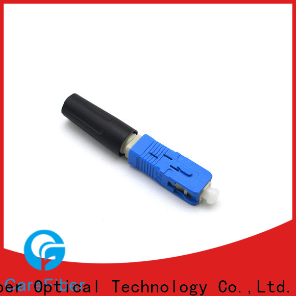 Carefiber assembly fiber optic cable connector types provider for consumer elctronics