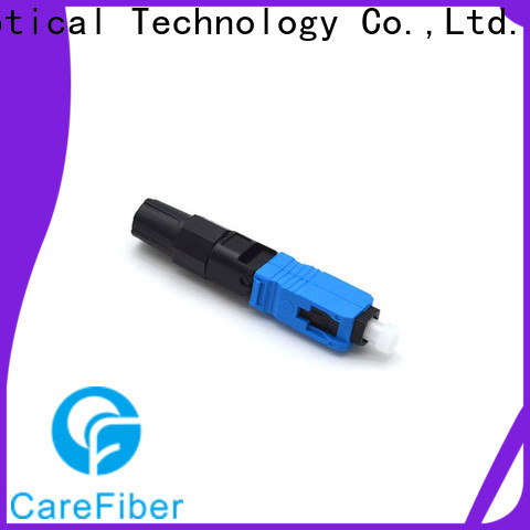 Carefiber cfoscapcl5201 fiber optic fast connector provider for consumer elctronics