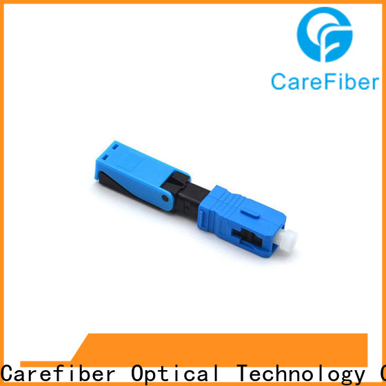 Carefiber best optical connector types provider for consumer elctronics