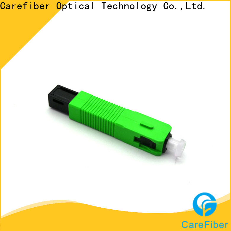 Carefiber optical fiber optic cable connector types trader for consumer elctronics