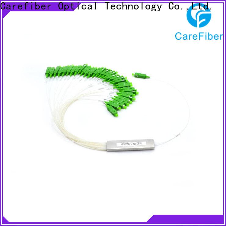 Carefiber most popular plc optical splitter trader for industry