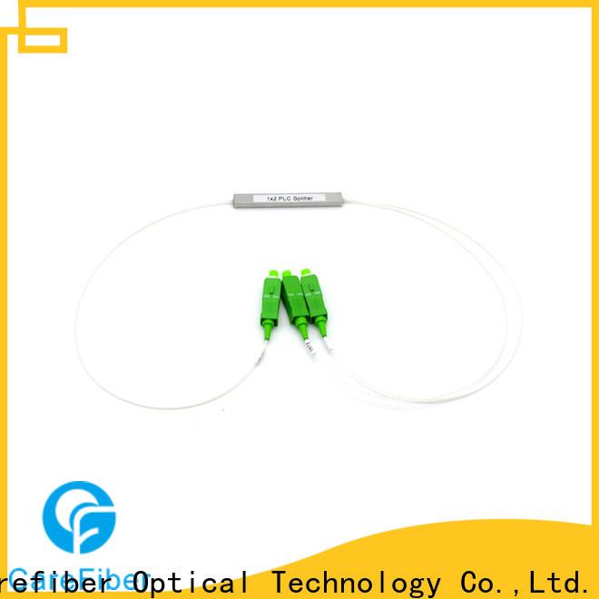 Carefiber quality assurance fiber optic splitter types cooperation for global market