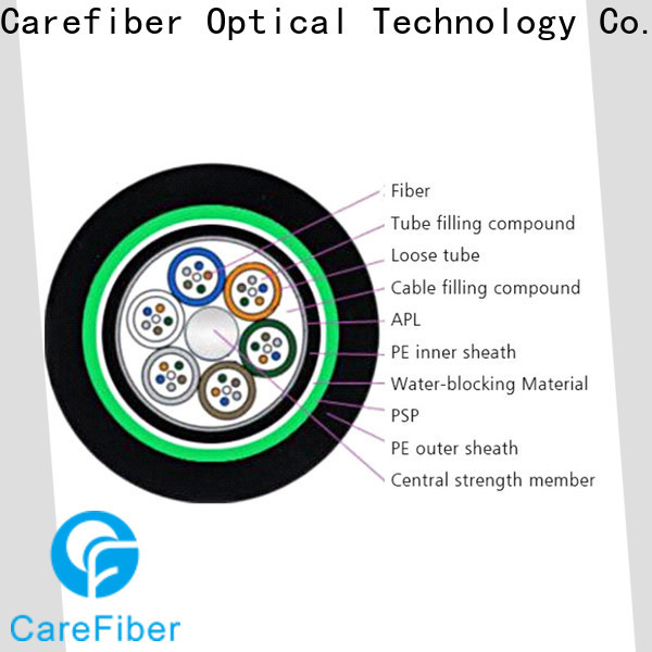 outside plant fiber optic cable gytc8s wholesale for communication