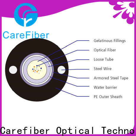 Carefiber outside plant fiber optic cable wholesale for trader