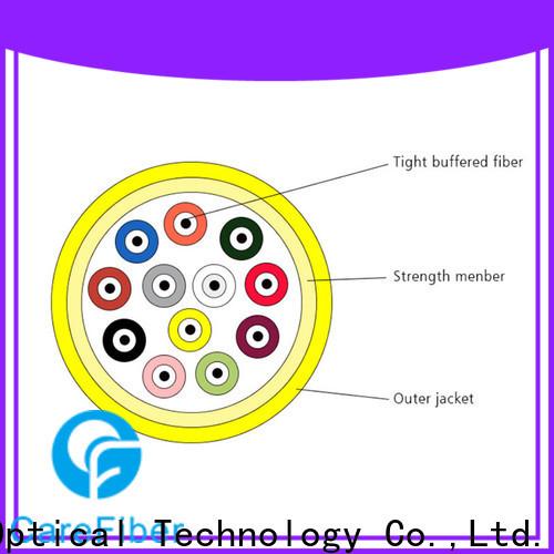 Carefiber high quality fiber optic supply maker for building