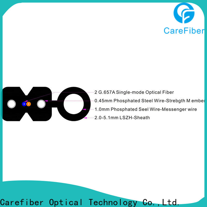 Carefiber gjxfh ftth fiber supplier for communication