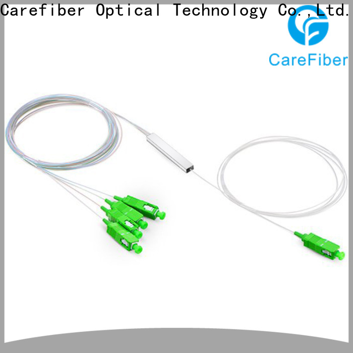 Carefiber splittercfowa08 plc fiber splitter foreign trade for global market