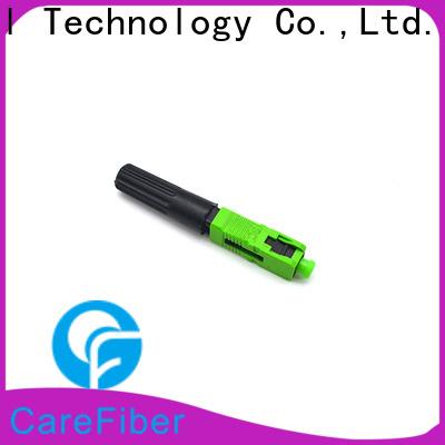 Carefiber fiber lc fiber connector factory for distribution