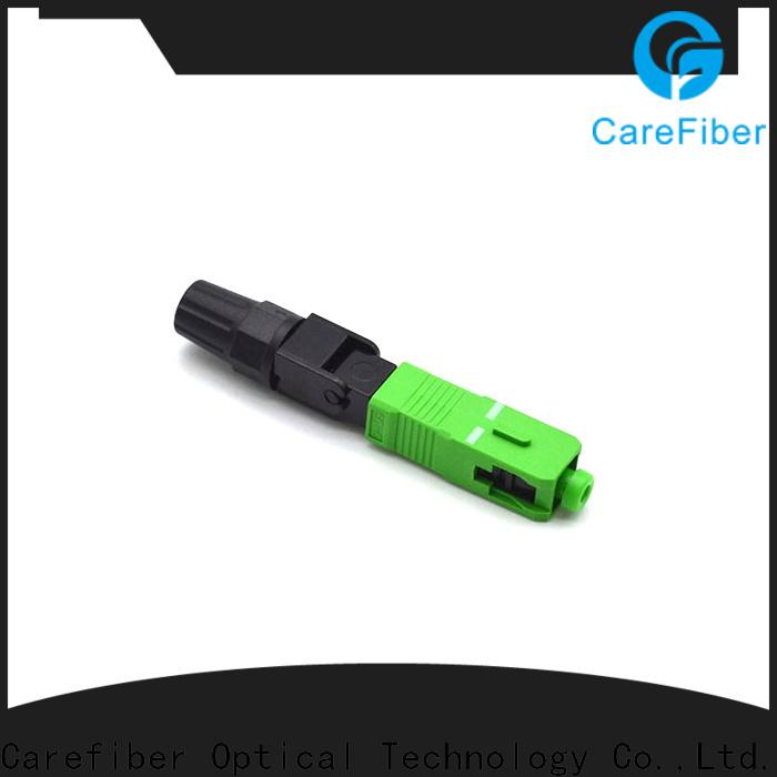 Carefiber dependable lc fiber connector factory for communication