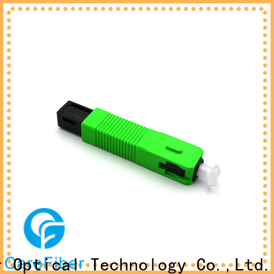 Carefiber connectorcfoscupcl5503 lc fast connector provider for consumer elctronics