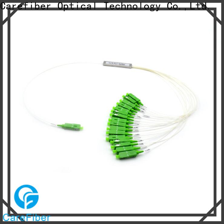 Carefiber quality assurance plc fiber splitter cooperation for communication