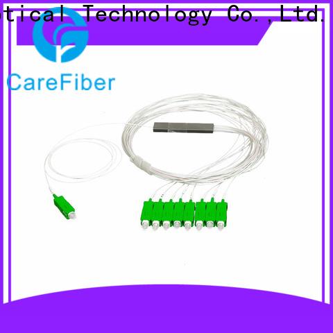 Carefiber most popular plc splitter trader for communication