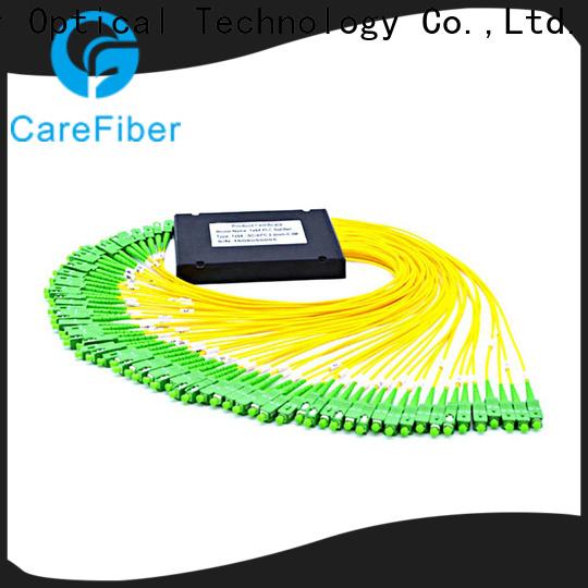 Carefiber best optical cable splitter best buy cooperation for industry