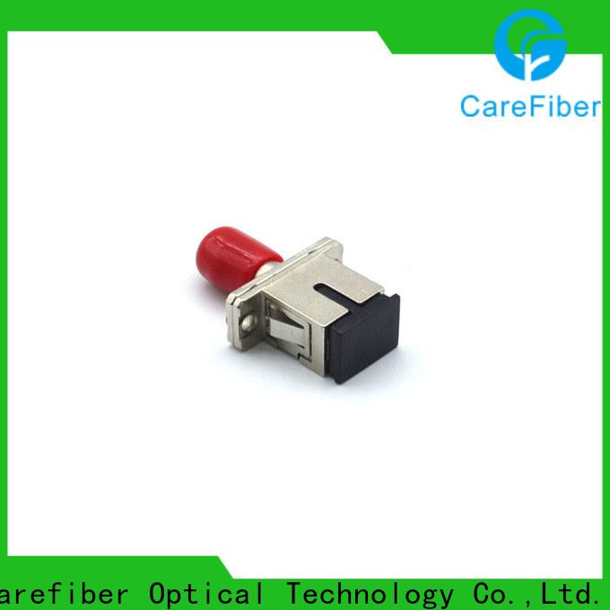 Carefiber optic fiber adapter supplier for importer