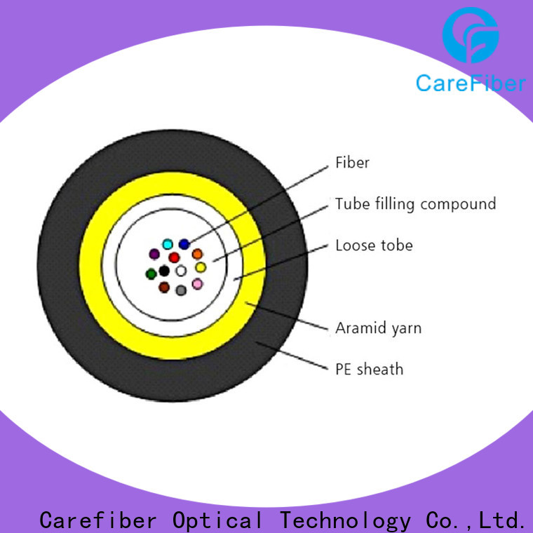 Carefiber standard fiber optic light cable great deal for importer