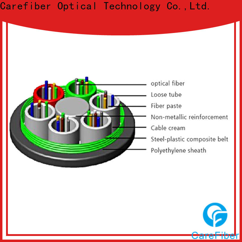 Carefiber tremendous demand outdoor multimode fiber optic cable buy now for trader