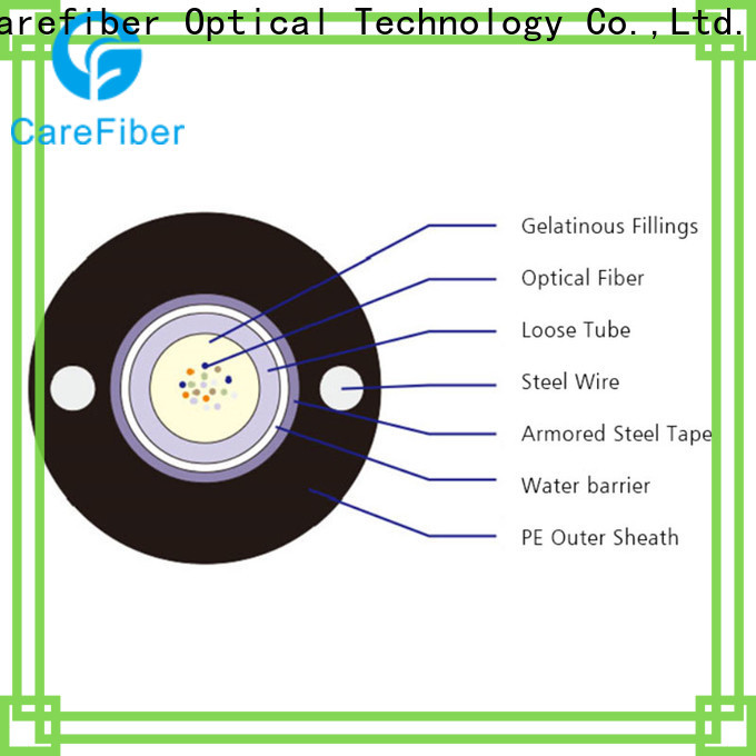 Carefiber gytc8s outdoor fiber optic cable buy now for trader