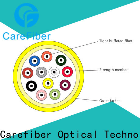 Carefiber high quality cable optica well know enterprises for indoor environment