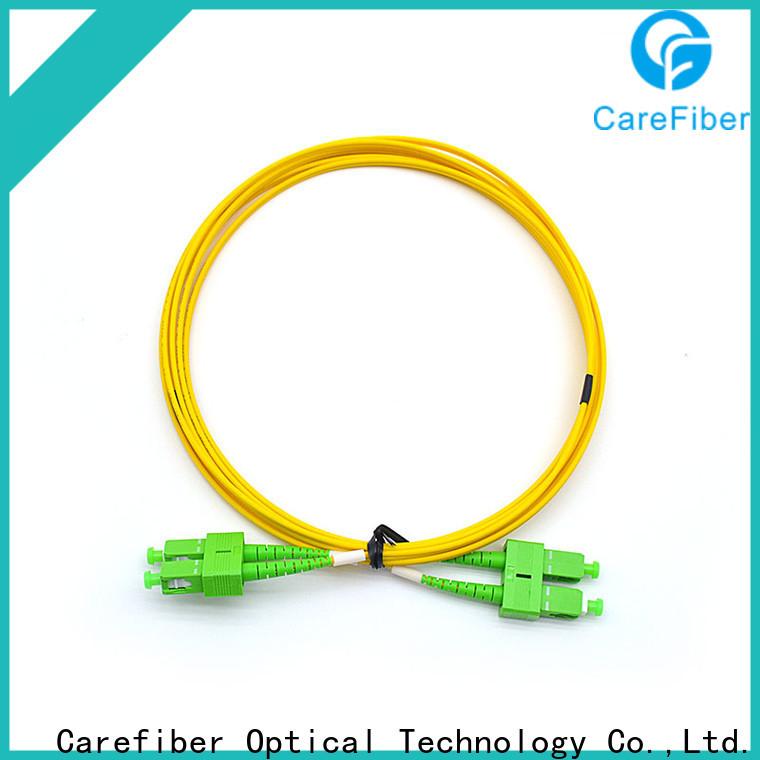 Carefiber sx patch cord fibra optica manufacturer for communication