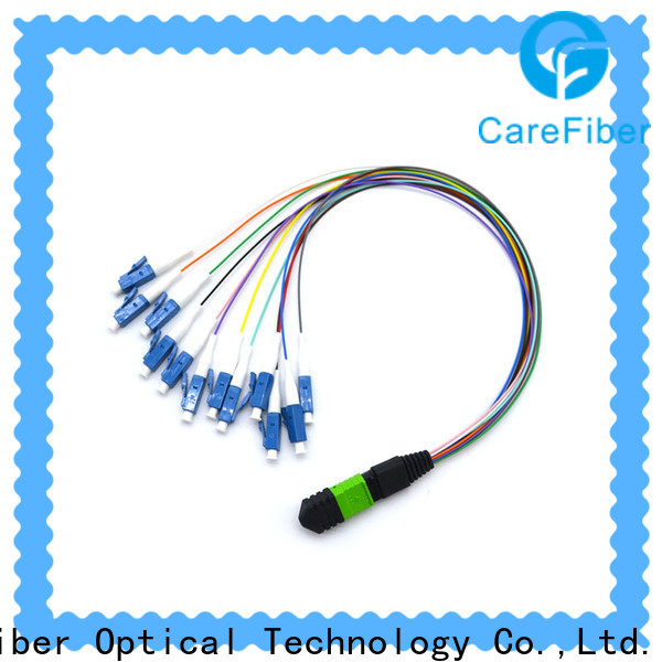 Carefiber 12 mpo harness cable made in China for telecom industry