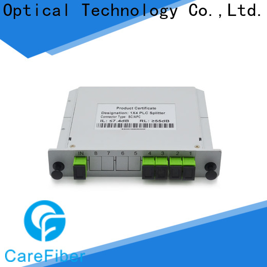 most popular fiber optic splitter types typecfowu04 cooperation for communication
