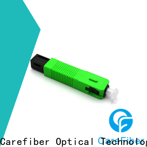 Carefiber fast lc fiber connector factory for consumer elctronics