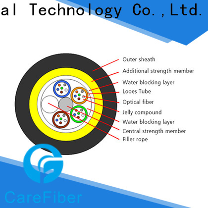 high-efficiency aerial fiber cable cable for communication