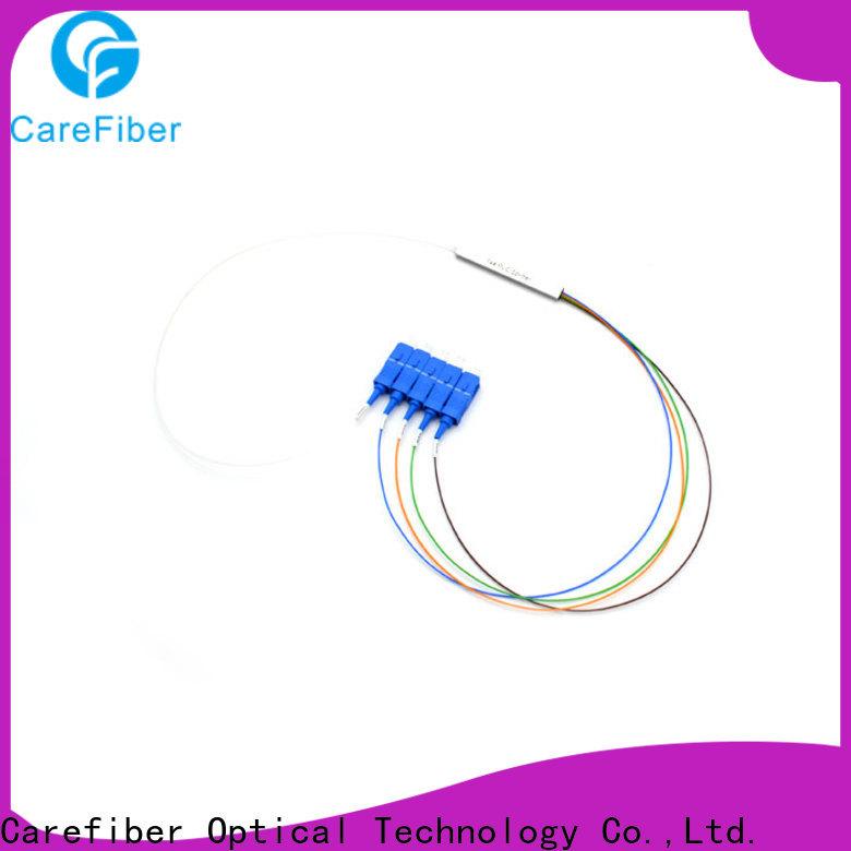 Carefiber best plc optical splitter cooperation for communication
