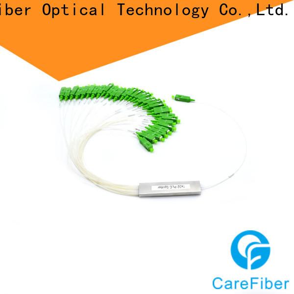 Carefiber most popular plc splitter cooperation for industry