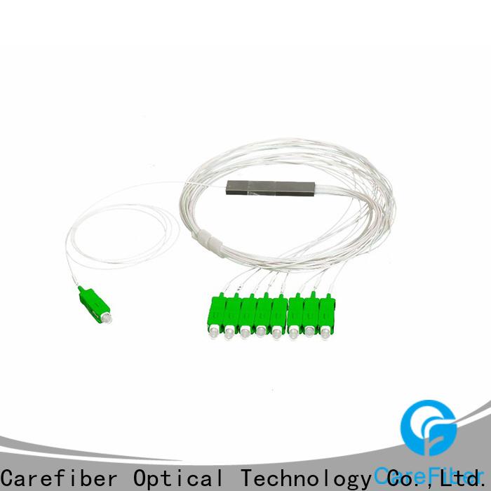Carefiber steel fiber optic splitter types cooperation for global market