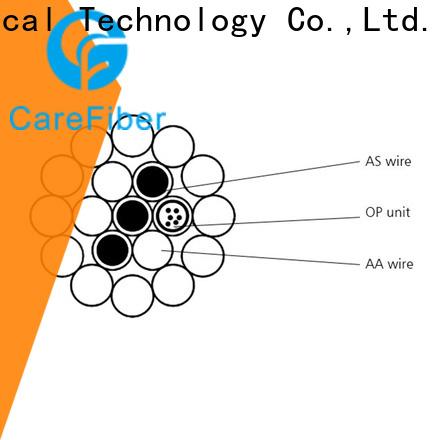 Carefiber cable opgw fiber great deal for sale