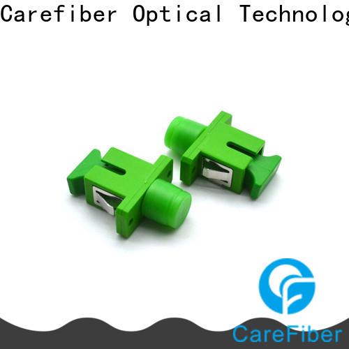 Carefiber high quality fiber optic adapter supplier for importer