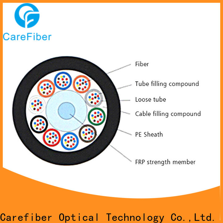 Carefiber gyfts outdoor fiber cable wholesale for trader