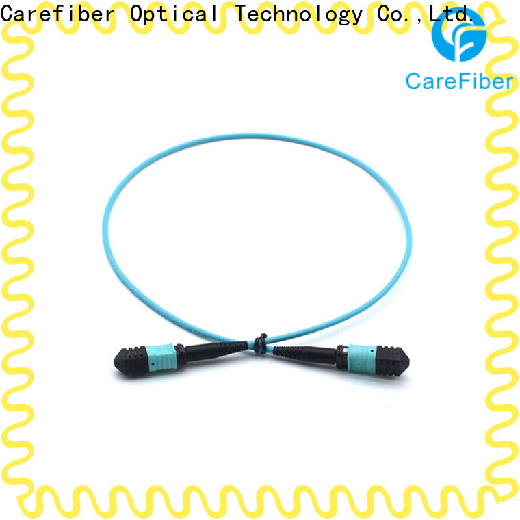 Carefiber best fiber optic patch cord foreign trade for connections