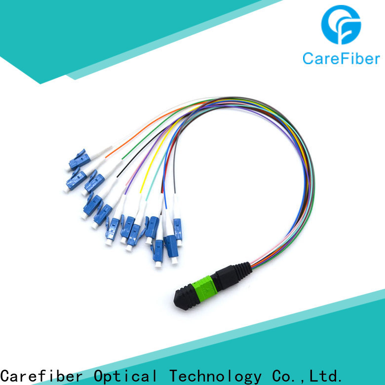 Carefiber tight mpo harness cable customization for telecom industry