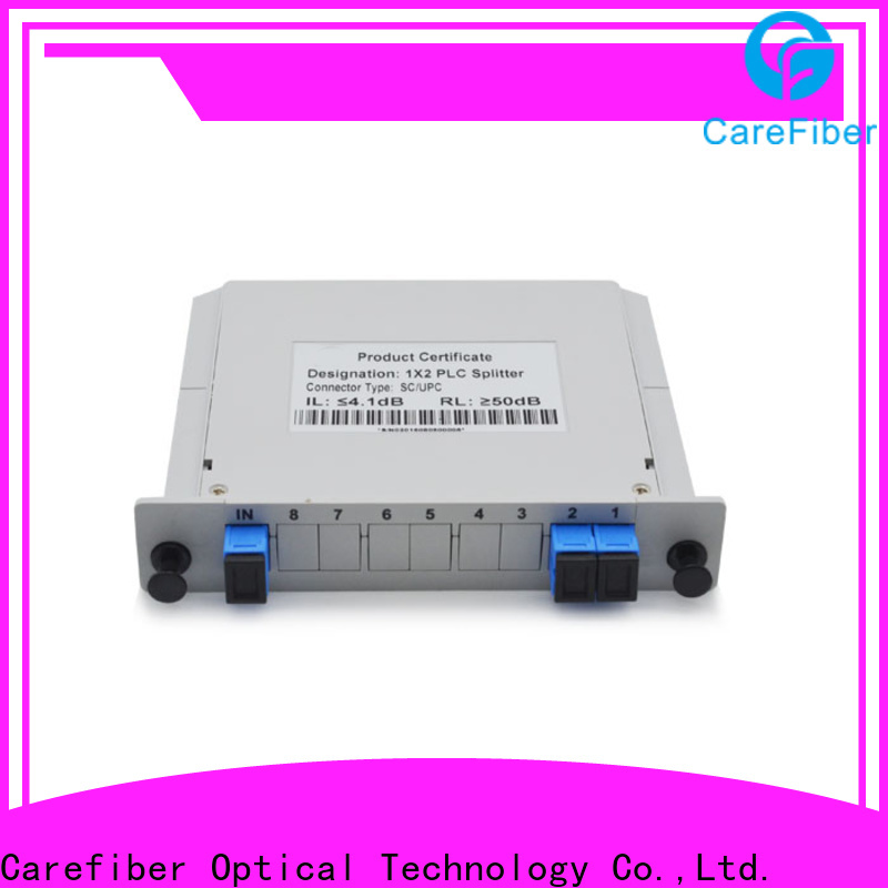 Carefiber 1x16 plc splitter cooperation for industry