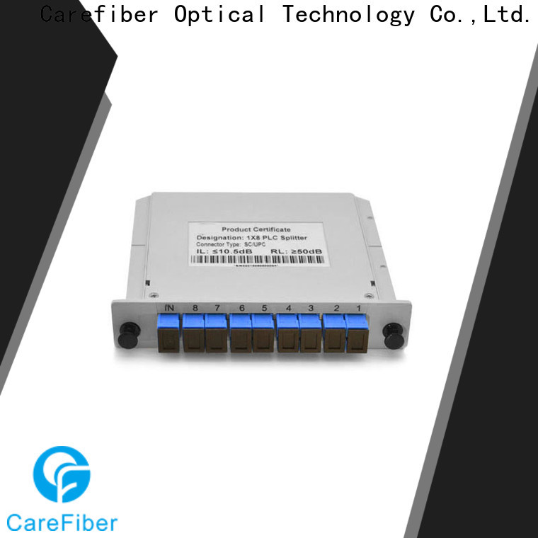 Carefiber best optical cable splitter cooperation for industry