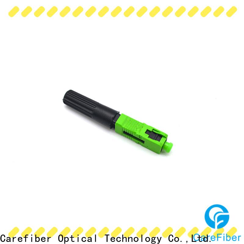 Carefiber dependable sc fiber optic connector provider for communication