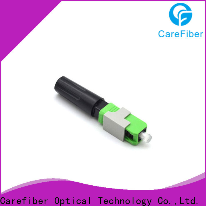 Carefiber new optical connector types factory for consumer elctronics