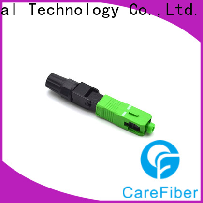 Carefiber new fiber optic cable connector types provider for distribution