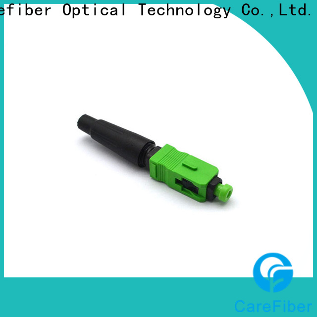 Carefiber connectorcfoscupcl5503 fiber optic cable connector types provider for distribution