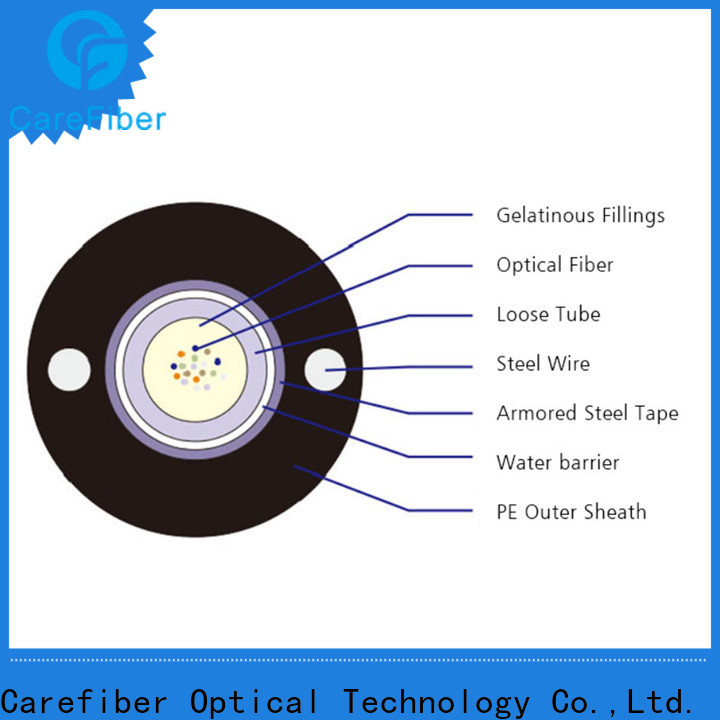 Carefiber gyfty outdoor fiber patch cable source now for merchant