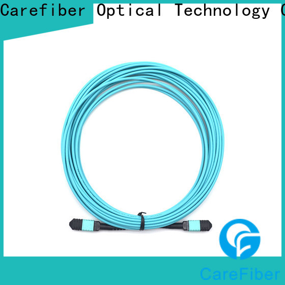 Carefiber best fiber optic patch cord cooperation for connections