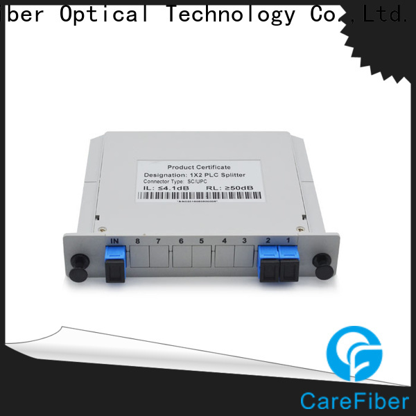 Carefiber scupc best optical splitter foreign trade for global market