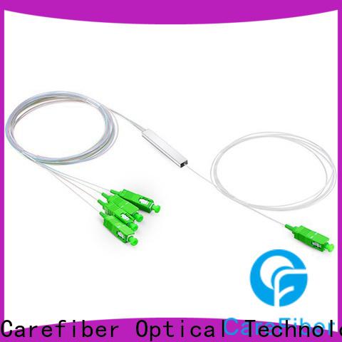 Carefiber best plc optical splitter trader for global market