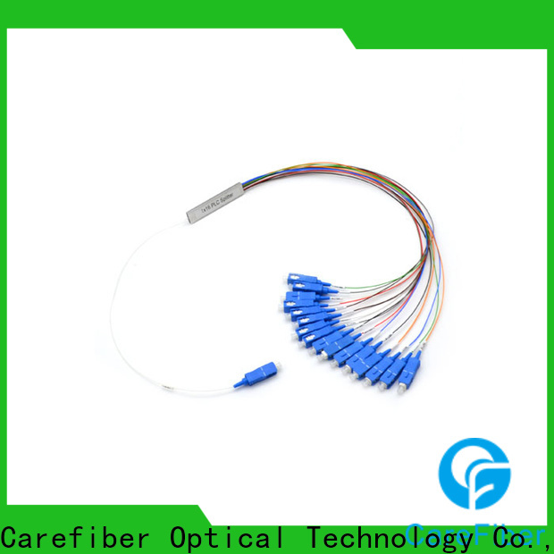 Carefiber 1x16plc best optical splitter foreign trade for industry