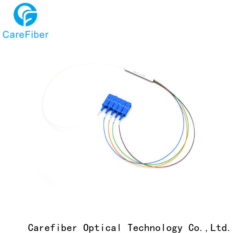 Carefiber most popular optical cord splitter cooperation for industry