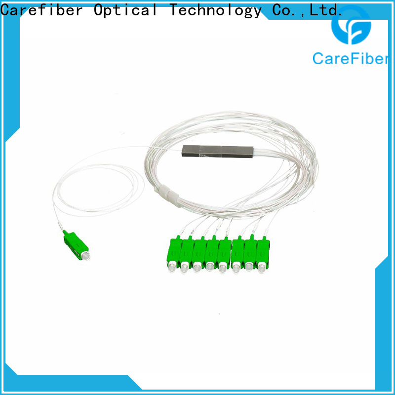 Carefiber quality assurance splitter plc foreign trade for global market